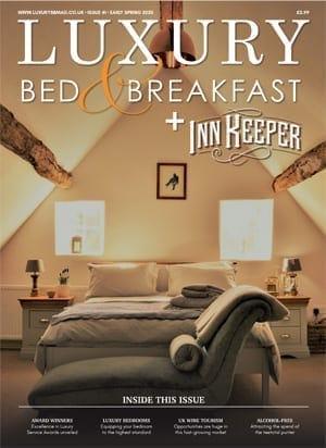 Luxury BnB Magazine +InnKeeper, Early Spring